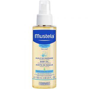 Mustela Babyolje 100 ml, ApotekForDeg, 951508