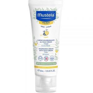 Mustela Nourishing Ansiktskrem 40 ml, ApotekForDeg, 916104