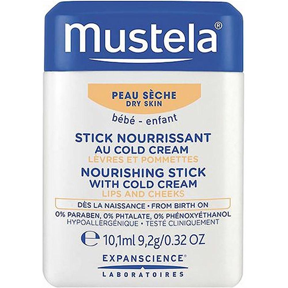 Mustela Nourishing Stick Cold Cream 10 ml, ApotekForDeg, 939071
