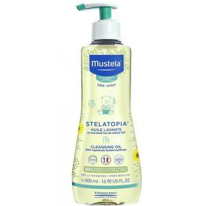 Mustela Stelatopia Cleansing Oil 500 ml, ApotekForDeg, 877763