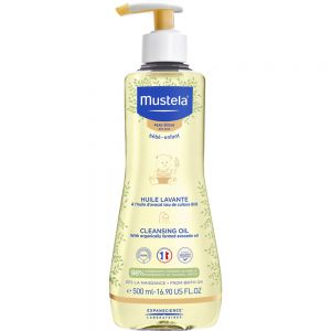 Mustela Vaskeolje 500 ml - for barn med tørr hud, Apotekfordeg, 919168