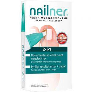 Nailner 2i1 penn mot neglesopp, 4 ml, Apotekfordeg, 987521