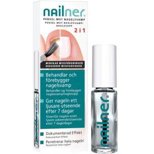 Nailner 2i1 pensel til neglesoppbehandling, 5 ml, Apotekfordeg, 805244