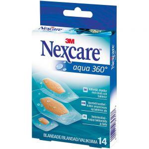 Nexcare Aqua 360 14 stk, ApotekForDeg, 885429