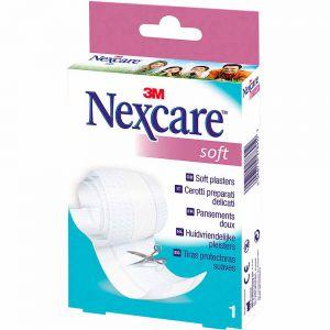 Nexcare Soft Plasterrull 9,4 cm x 1 m 1 stk, ApotekForDeg, 817142