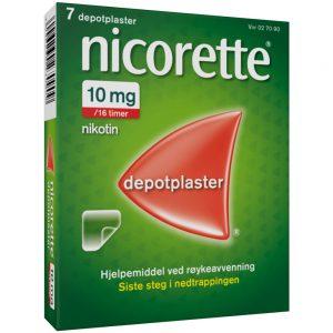 Nicorette Depotplaster, Apotekfordeg, 27090