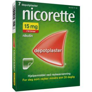 Nicorette Depotplaster, Apotekfordeg, 27112