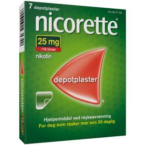 Nicorette Depotplaster, Apotekfordeg, 27134