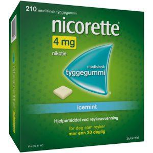 Nicorette Icemint tyggegummi, Apotekfordeg, 51163