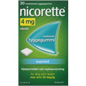 Nicorette Icemint tyggegummi, Apotekfordeg, 82519