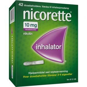 Nicorette inhalator, Apotekfordeg, 372169