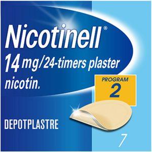 Nicotinell depot plaster 14mg-24timer, 7stk, ApotekForDeg, 12716