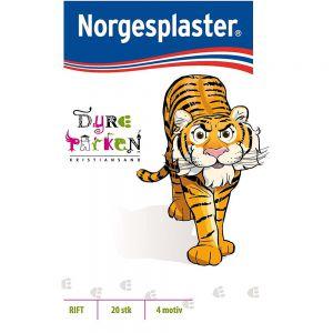 Norgesplaster Barneplaster Dyreparken 20 stk, ApotekForDeg, 903395