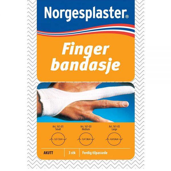 Norgesplaster Fingerbandasje Medium 3 stk, ApotekForDeg, 981258