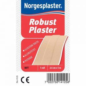 Norgesplaster Robust Plaster 6 cm x 5 m 1 stk, ApotekForDeg, 826669