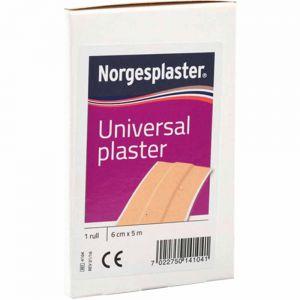 Norgesplaster Universal 6 cm x 5 m 1 rull, ApotekForDeg, 826594