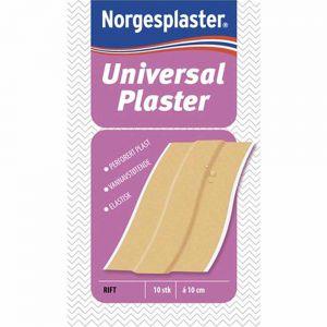 Norgesplaster Universal Plaster 6 x 10 cm 10 stk, ApotekForDeg, 826586