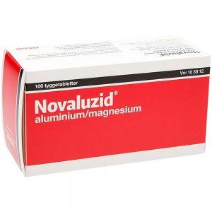Novaluzid Tyggetabletter Mintsmak 100 stk, ApotekForDeg, 103812