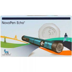 NovoPen echo blå insulinpenn, 1stk, ApotekForDeg, 923116
