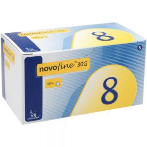 Novofine kanyle 30G 0,30x 8mm, 100 stkNovofine kanyle 30G 0,30x 8mm, 100 stk, ApotekForDeg, 882506