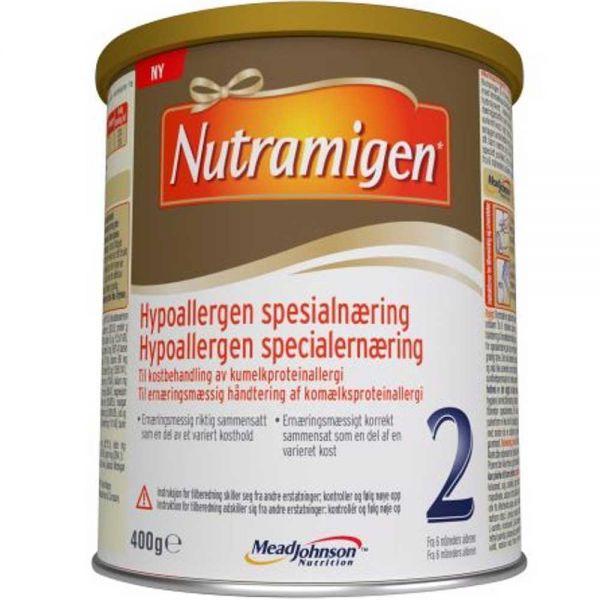 Nutramigen 2 dha pulver, 6mnd+, 400g, ApotekForDeg, 903602
