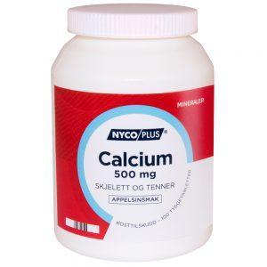 Nyciplus Calcium, skjelett og tenner, Apotekfordeg, 837872