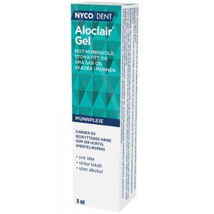 Nycodent Aloclair Gel mot munnskold, stomatitt og små sår og skader i munnen, Apotekfordeg, 864527