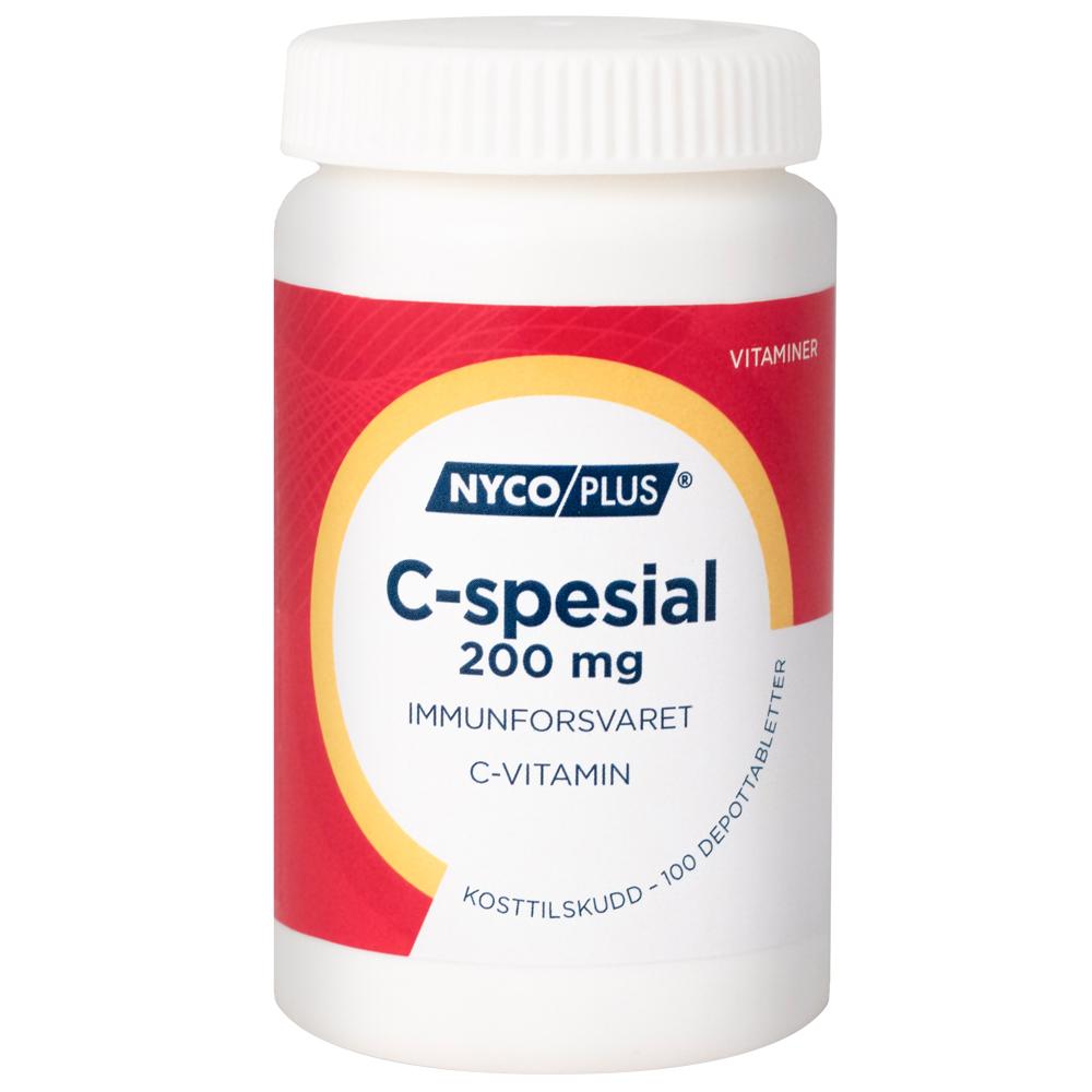 Nycoplus C-spesial kosttilskudd mot immunforsvaret, Apotekfordeg, 923111