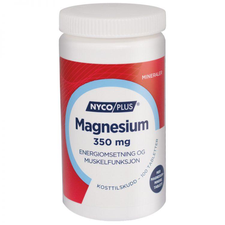 Nycoplus Magnesium kosttilskudd, Energiomsetning og muskelfunksjon, Apotekfordeg, 849198