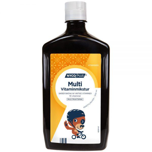 Nycoplus Multi vitaminmikstur som sikrer inntak av viktige vitaminer, Apotekfordeg, 994434