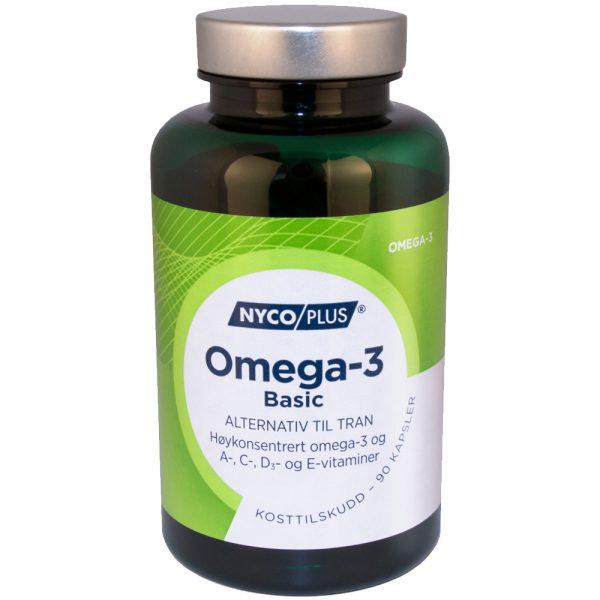 Nycoplus Omega-3 basic kosttilskudd, Apotekfordeg, 903201