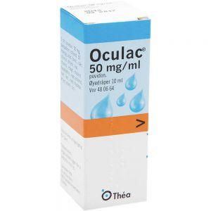 Oculac 50 mg-ml Øyedråper 10 m, ApotekForDeg, 480664