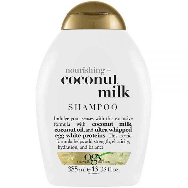 Ogx Coconut Milk Sjampo 385 ml, ApotekForDeg, 990141
