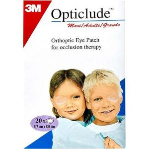 Opticlude Maxi Øyelapp Barn 6-9 År 20 stk, ApotekForDeg, 819151