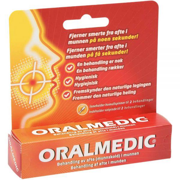 Oralmedic Afte og Blemme 2 behandlinger, ApotekForDeg, 870801