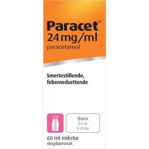 Paracet Mikstur 24 mg:ml 60 ml, Apotekfordeg, 106383