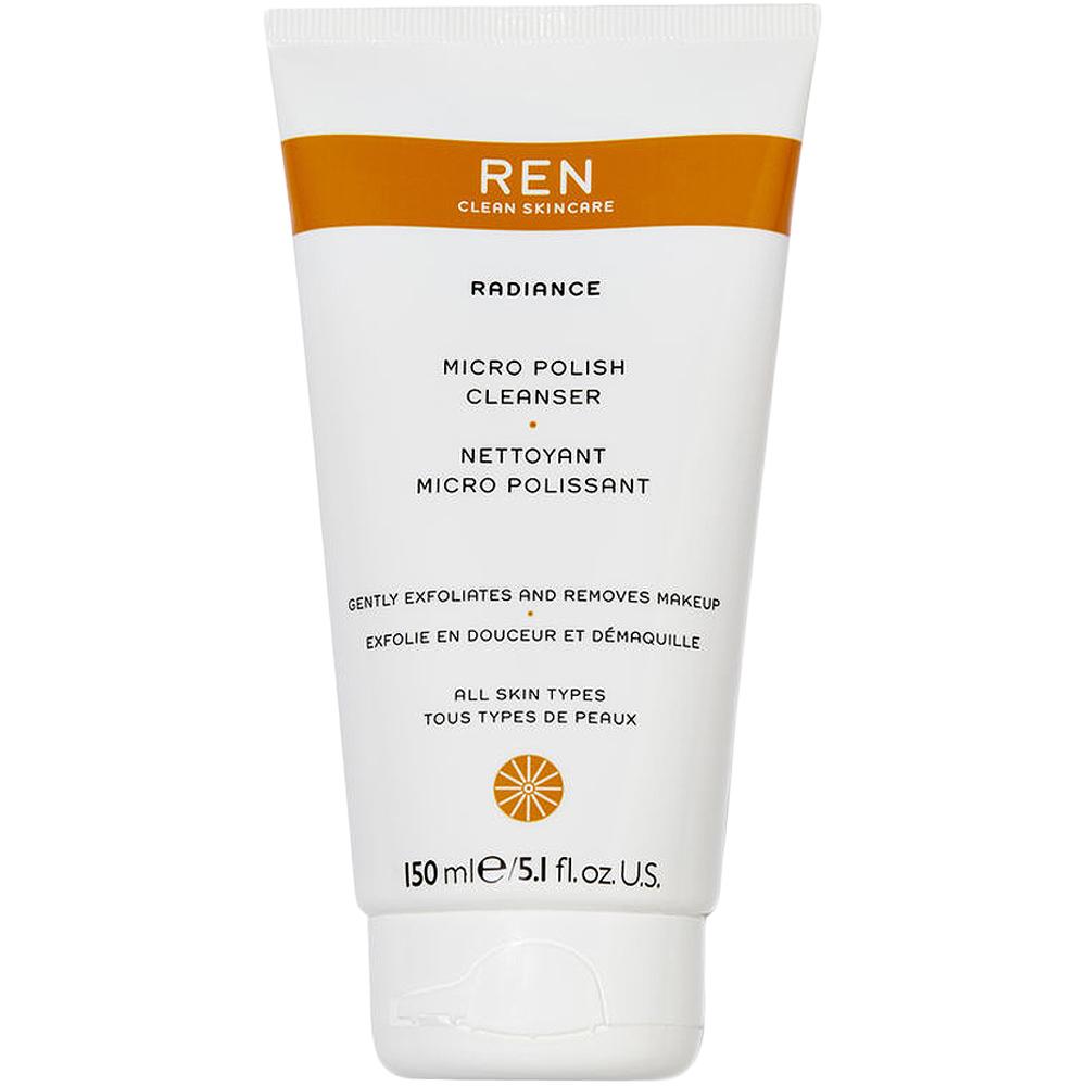 REN clean skincare micro polish cleanser, renseskrubb som stimulerer cellefornyelsen, 150 ml, ApotekForDeg, 904149
