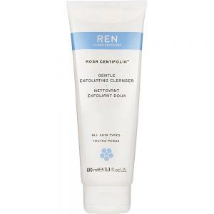 REN clean skincare rosa centifolia gentle exfoliating cleanser, for alle hudtyper, 100ml, ApotekForDeg, 852865