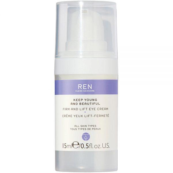 REN keep young and beautiful firm and lift eye cream, fyldig øyekrem for alle hudtyper, 15 ml, ApotekForDeg, 938081