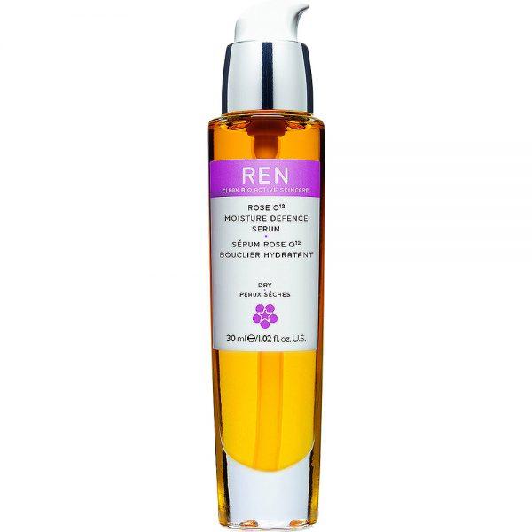REN rose O12 moisture defence oil, dypt fuktighetsgivende olje for alle hudtyper, 30 ml, ApotekForDeg, 845352