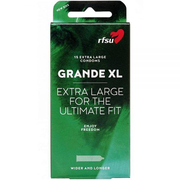 RFSU Grande XL kondomer, Apotekfordeg, 858055