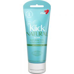 RFSU Klick Natural 100 ml - naturlig glidemiddel, Apotekfordeg, 902991