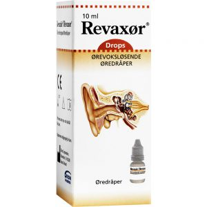 Revaxør øredråper refill mot ørevoks 10 ml, Apotekfordeg, 846543