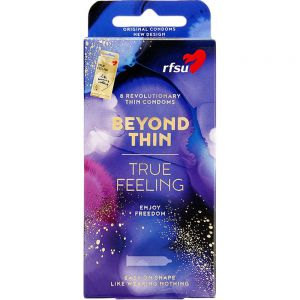 Rfsu True Feeling Kondom 8 stk, ApotekForDeg, 868558