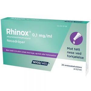 Rhinox Nesedråper, Apotekfordeg, 542068