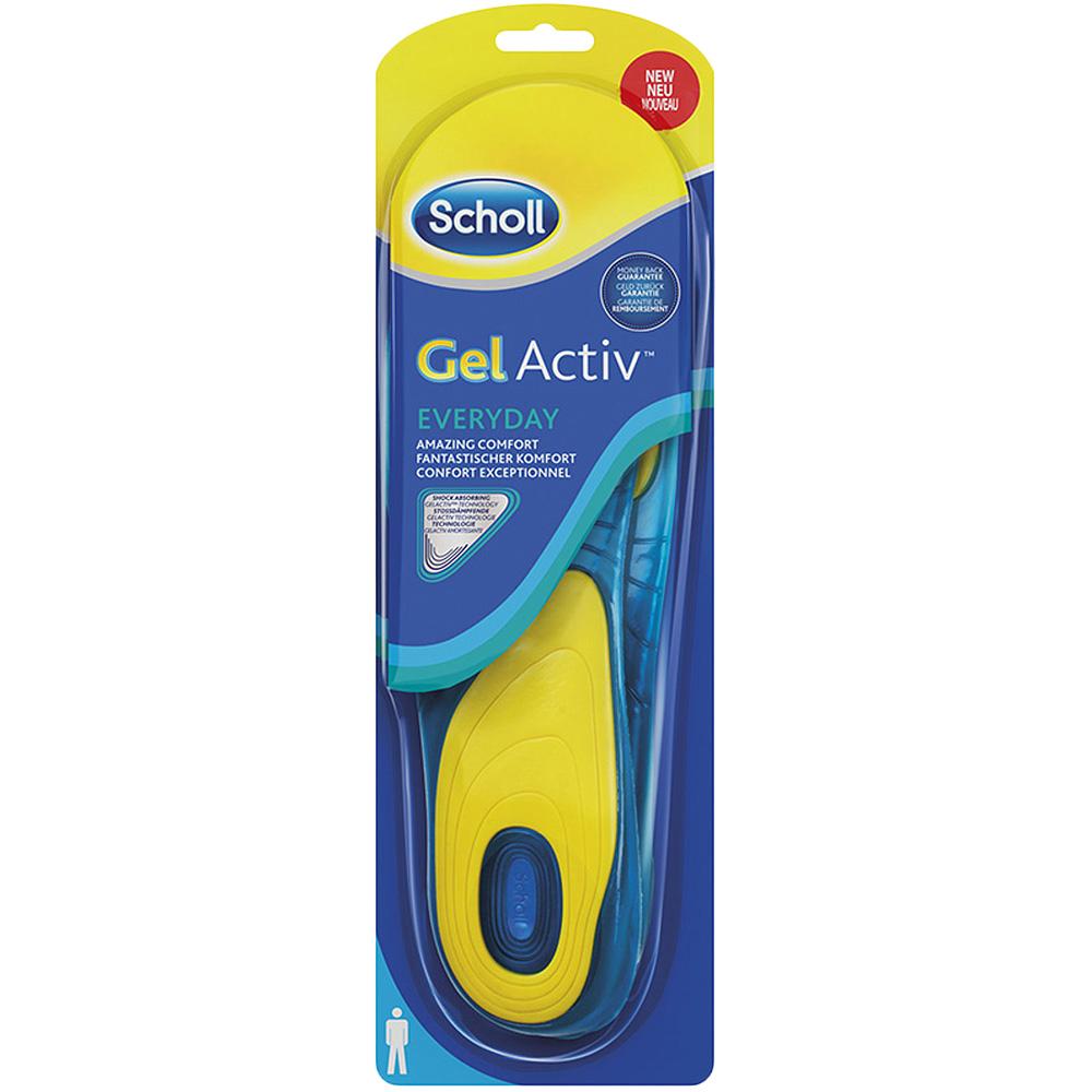 Scholl Gel Activ Everyday såler mann, 1 par, ApotekForDeg, 927493