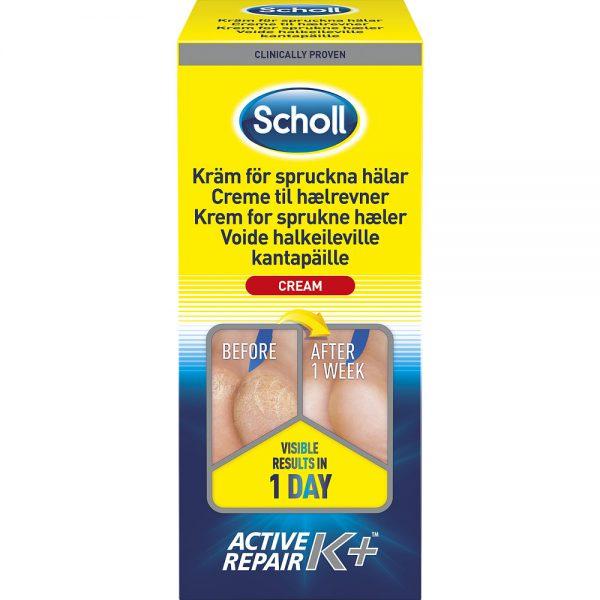 Scholl krem for sprukne hæler K+, 120 ml, ApotekForDeg, 944801