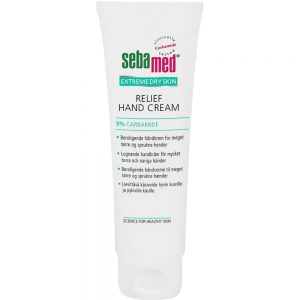 Sebamed extreme dry skin relief håndkrem med 5 % karbamid, 75ml, ApotekForDeg, 855640