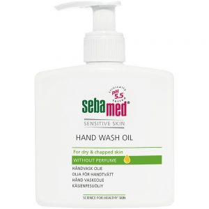 Sebamed hand wash oil for tørr og sprukken hud, 250ml, ApotekForDeg, 808617