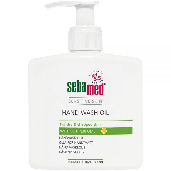Sebamed hand wash oil for tørr og sprukken hud, 250ml, ApotekForDeg, 808617